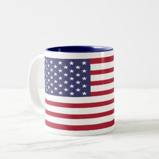 Custom USA Flag Mug