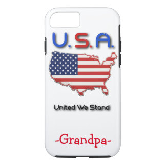 Custom USA iPhone Case