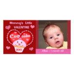Custom Valentine's Day Baby  Photo Card
