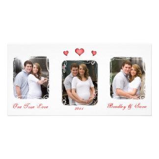 Custom Valentine's Day Love Photo Card