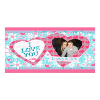 Custom Valentine's Day Photo Card