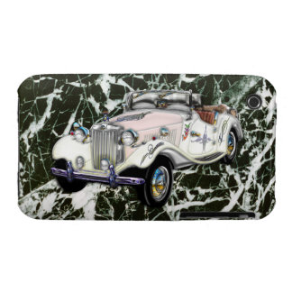 Custom Vintage 1955 MG Convertible Sports Car Case-Mate iPhone 3 Case
