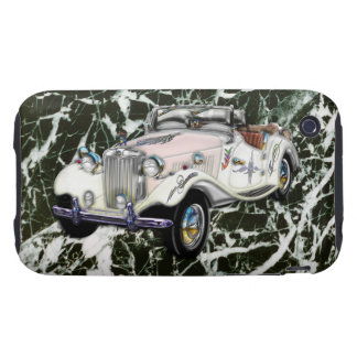 Custom Vintage 1955 MG Convertible Sports Car Tough iPhone 3 Cases