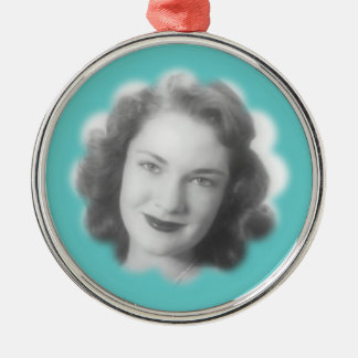 Custom Vintage Photo Metal Ornament