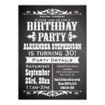 Custom Vintage Slate Chalkboard Birthday Party