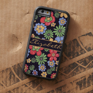 Custom Vivid Colourful Flowers to Personalize Tough Xtreme iPhone 6 Case