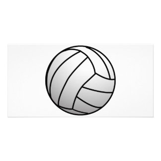 Custom VolleyBall Sports Product Customized Photo Card