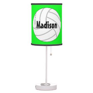Custom Volleyball Table Lamp