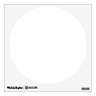 Custom Wall Decal Circle