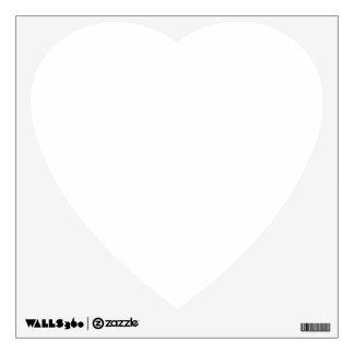 Custom Wall Decal Heart