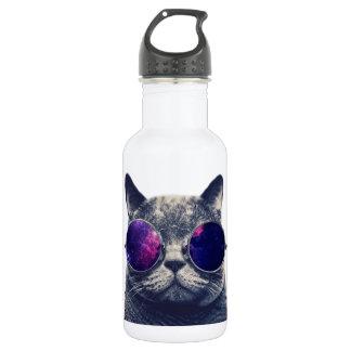 Custom Water Bottle (18 oz), White