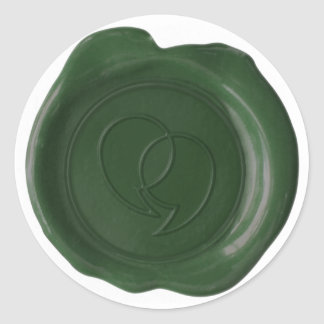 CUSTOM WAX SEAL - Lauren Logo - Flat Dk Green