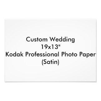 Custom Wedding 19x13 Kodak Pro Photo Paper Satin