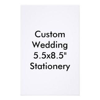 """Custom Wedding 5.5x8.5"""" Stationery Custom Stationery"""