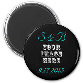 Custom Wedding Favor Magnet
