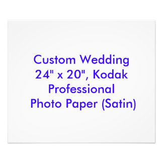 Custom Wedding Gift or Keepsake Photo Print