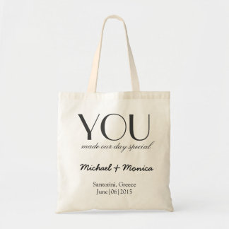 Custom Wedding Hotel Gift Bag