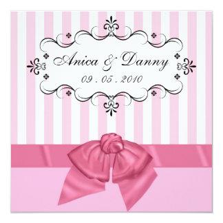 Custom Wedding Invitation - for Anica & Danny