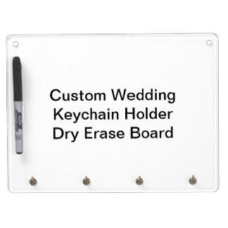 Custom Wedding Keychain Holder Dry Erase Board