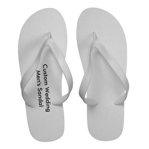 Custom Wedding Men's Sandal Sandals