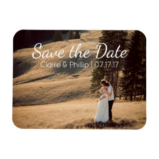 Custom Wedding Photo | Save the Date Magnet