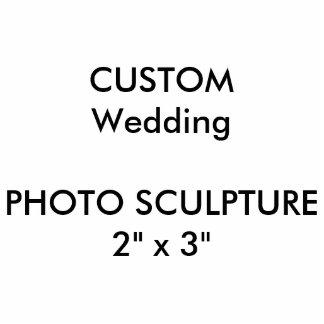 "Custom Wedding Photo Sculpture 2"" x 3"""