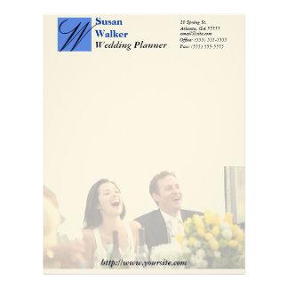 Custom Wedding Planner Stationary Personalized Letterhead
