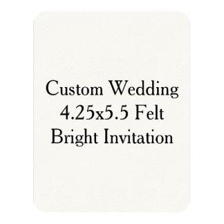 Custom Wedding Save The Date Invitation