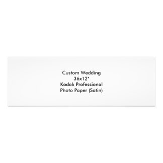 Custom Wedding Save The Date Photo Print