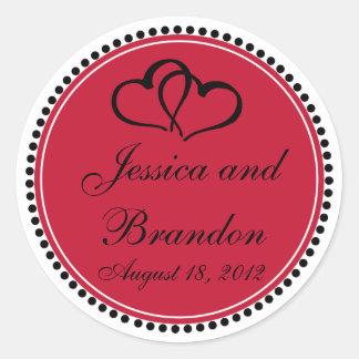 Custom Wedding Sticker 006