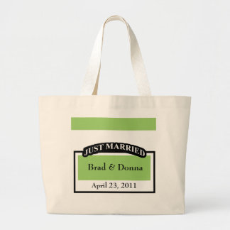 Custom Wedding Tote Bags
