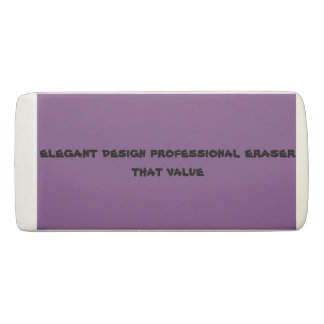 custom wedge eraser  eraser