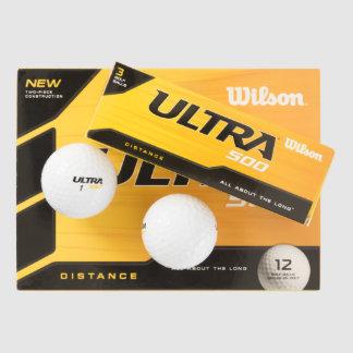 Custom Wilson Ultra 500 Distance Golf Ball (12)