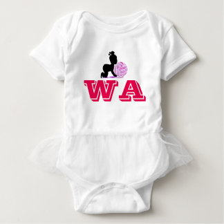 Custom Wing Attack Netball Player Position Baby Bodysuit