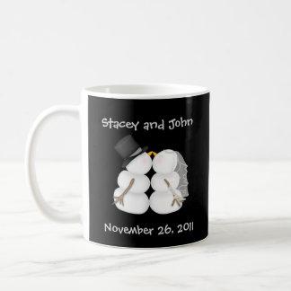 Custom Winter Wedding Mug