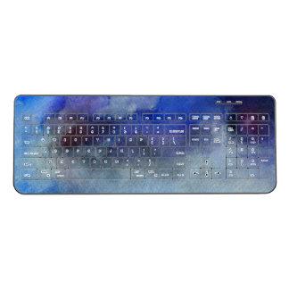 Custom Wireless Keyboard Clouds