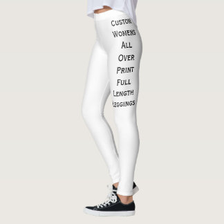 Custom Womens All Over Print Full Length Leggings