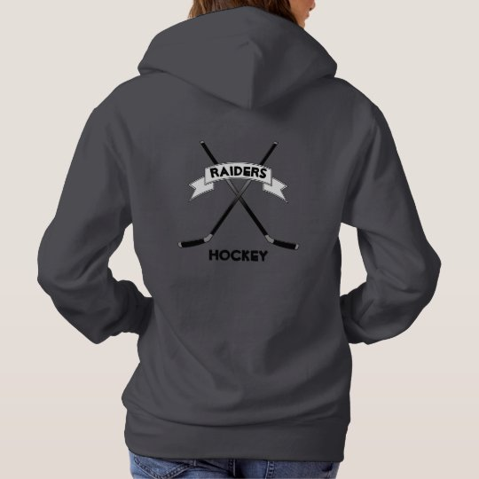 Custom Women's Hockey Hoodie Sweatshirt