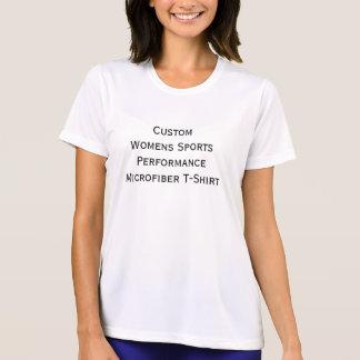Custom Womens Sports Performance Microfiber Tshirt