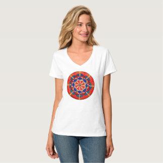 Custom Women's V-Neck Tshirt
