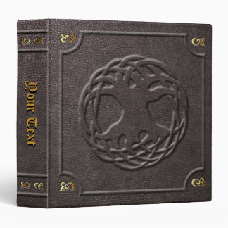 Custom World Tree Book of Shadows 3 Ring Binders