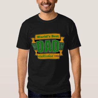 Custom Worlds Best Dad T-Shirt