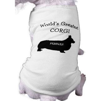Custom Worlds Greatest Corgi Shirt