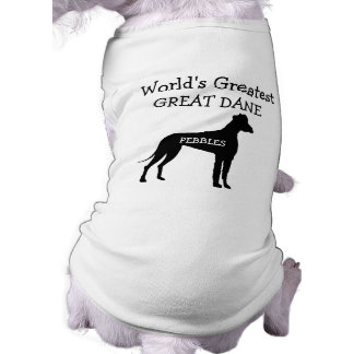 Custom Worlds Greatest Great Dane Shirt