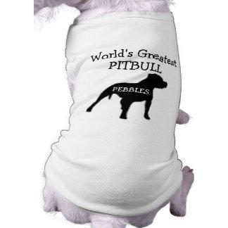 Custom Worlds Greatest Pitbull Shirt