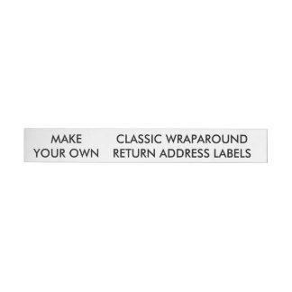Custom Wraparound Return Address Labels (24)