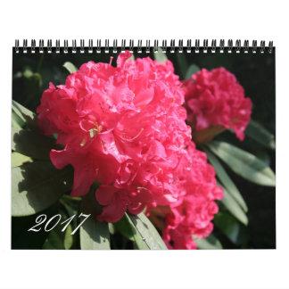 Custom Year 2017 Floral Photography Calendar