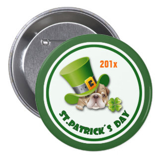 Custom Year St Patrick s Day Gift Buttons Buttons