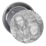 Custom Your Photo 3 inch Button Template