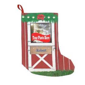 Custom (Your  Photo) Barn Door Stocking